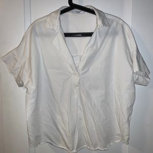 Carly Jean Los Angeles white blouse